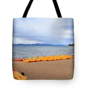 Paddle Boat Anyone Tote Bag