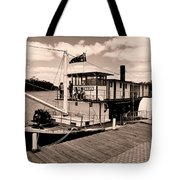 Paddlesteamer Tote Bag