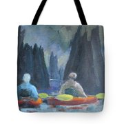 Paddling Dead Lakes 2 Tote Bag