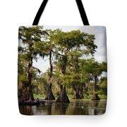 Paddling In The Bayou Tote Bag