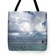 Paddling In The Open Tote Bag