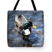 Paddling Peacefully Tote Bag