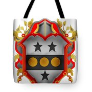 Paddock Family Crest Tote Bag