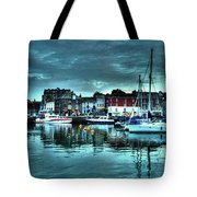 Padstow Harbour At Dusk Tote Bag
