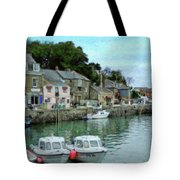 Padstow Harbour - P4a16021 Tote Bag
