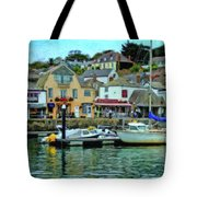 Padstow Harbour Slipway - P4a16023 Tote Bag