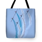Paf Shedilaerobatic Team Formation Flight Tote Bag