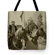 Pageantry In Sepia Tote Bag