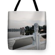 Pagoda Reflection In Chinese Garden Singapore Tote Bag