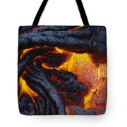 Pahoehoe Lava Texture Tote Bag