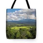 Pai Landscape View, Thailand Tote Bag