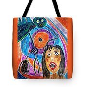 Pain Monster Tote Bag