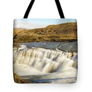 Paine River Waterfall Tote Bag