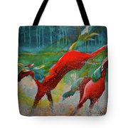 Pained Ponies - The Kick Tote Bag