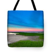 Paines Creek Sunset Cape Cod Tote Bag