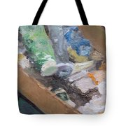 Paint Box Tote Bag