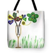 Paint By Wine Tote Bag