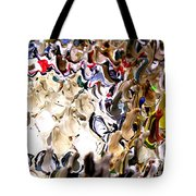 Paint Drippings Tote Bag