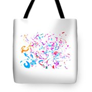 Paint Experiment 033 Tote Bag