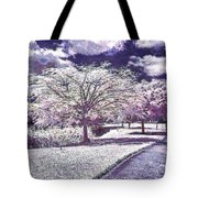 Paint Garden Tote Bag