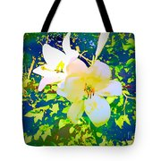 Paint Me In Water Color Said The Lilies To The Artist Tote Bag