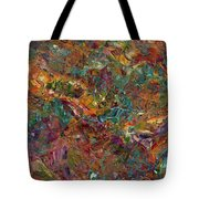 Paint Number 16 Tote Bag by James W Johnson