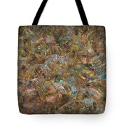 Paint Number 18 Tote Bag by James W Johnson