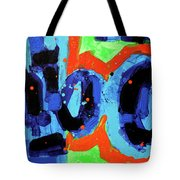 Paint What You Feel Not What You See Tote Bag