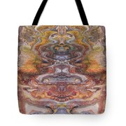 Paintblot Number Six Tote Bag