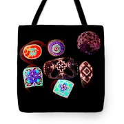 Painted Asteroids 1 Tote Bag by Eikoni Images