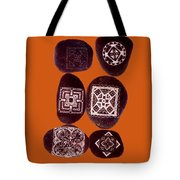 Painted Asteroids 11 Tote Bag by Eikoni Images