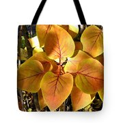 Painted Autumn Lilac Tote Bag