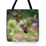 Painted Background Tote Bag