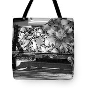 Painted Bench Tote Bag