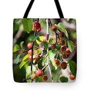 Painted Berries Tote Bag