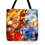 Painted Branches Abstract 1 Tote Bag