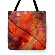 Painted Branches Abstract 5 Tote Bag