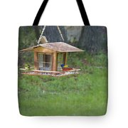 Painted Buntings Tote Bag