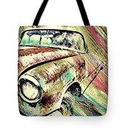 Painted Car Tote Bag