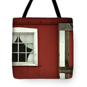 Painted Curtains Tote Bag