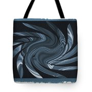 Painted Cyanotype Heart Sun Tote Bag
