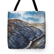 Painted Desert Landscape Mountain Desert Fine Art Tote Bag