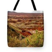 Painted Desert Panorama Tote Bag