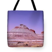 Painted Desert Tepees Tote Bag