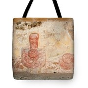 Painted Design At Oxtankah Tote Bag