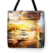 Painted Dreams Tote Bag by Art Di