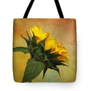 Painted Golden Beauty Tote Bag
