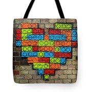Painted Heart 1 Vienna Austria Tote Bag