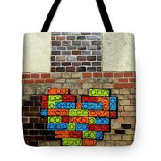 Painted Heart 2  Vienna Austria Tote Bag