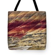 Painted Hills Contour Tote Bag